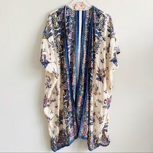 Gypsy Love Open front Floral kimono